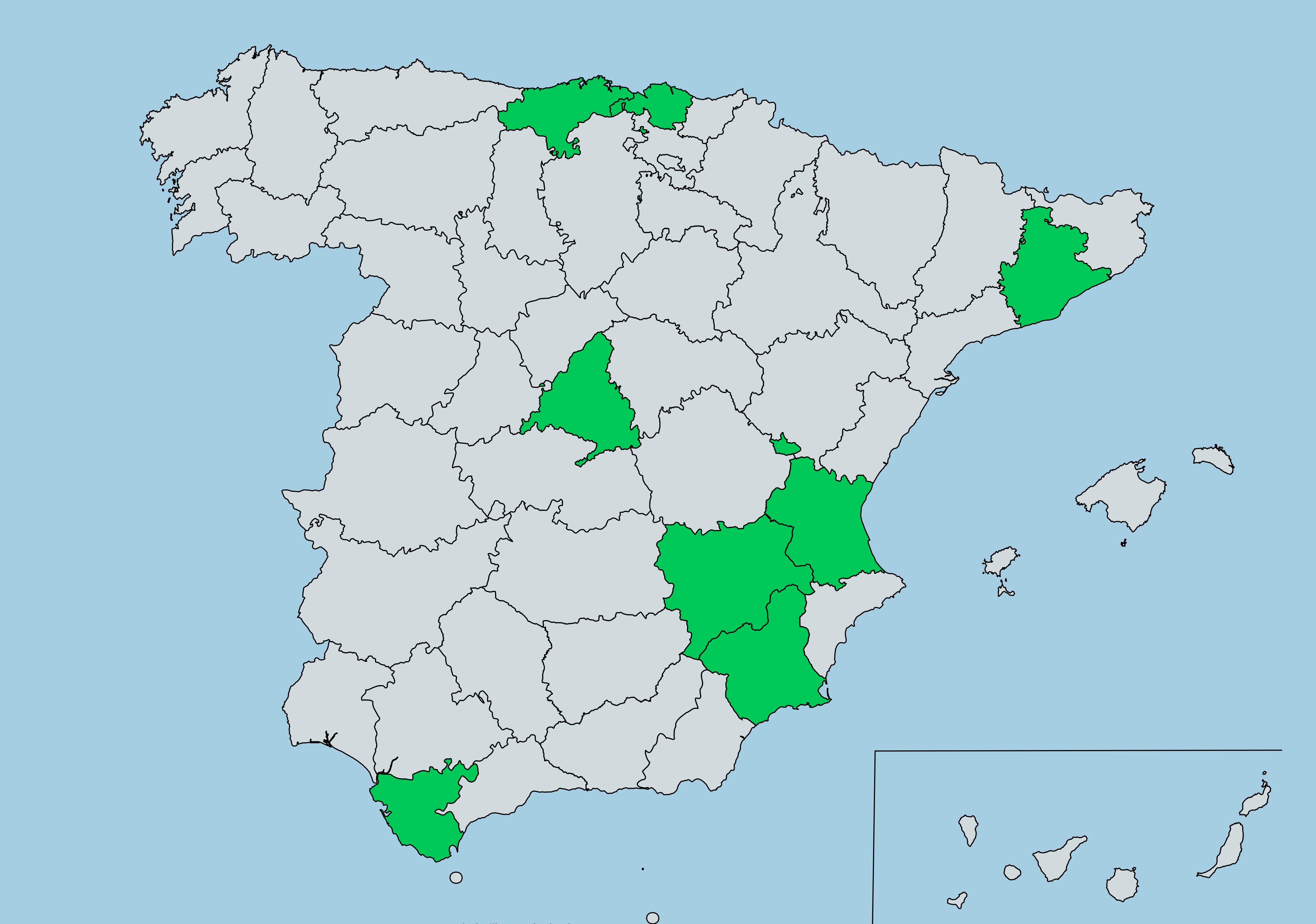Grupos en España